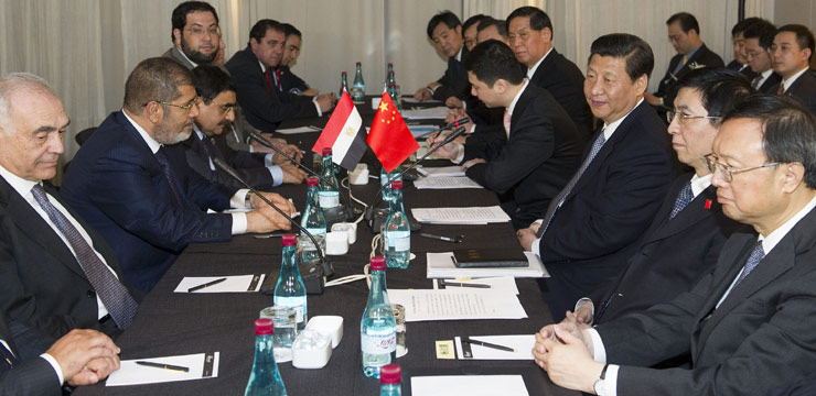 Chinese, Egyptian leaders vow to deepen co-op