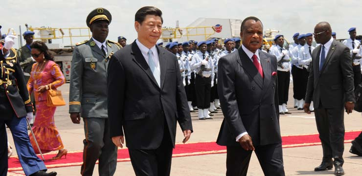 Xi hails China-Congo ties as 'model of cooperation'
