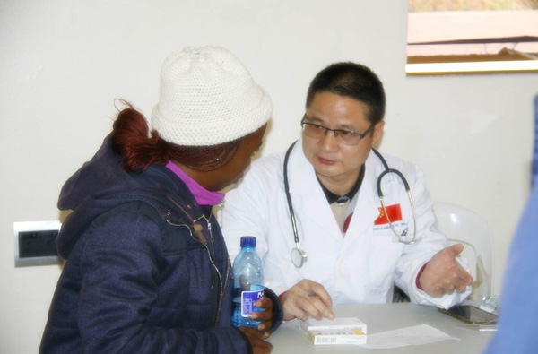 Chinese doctors' skills, care touch hearts in Lesotho