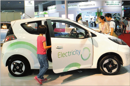 Looking overseas for new-energy vehicle ideas