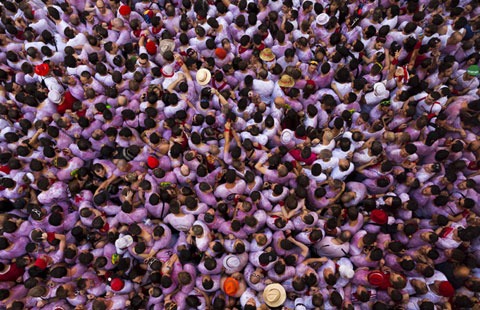 World creaking under sheer weight of population