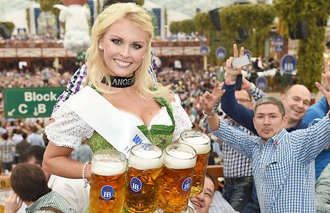 Go on a drinking spree in Munich