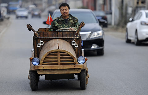 Homemade cars outpace the ordinary