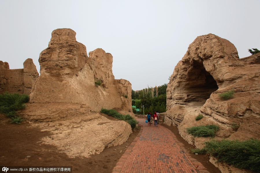 22 World Heritage sites in China along the Silk Road