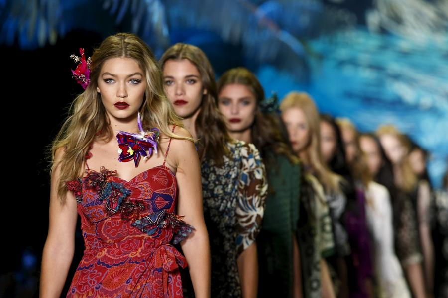 NYFW: Anna Sui Spring/Summer 2016 collection