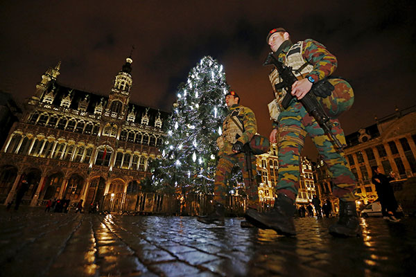 Chinese stay home amid alert in Brussels
