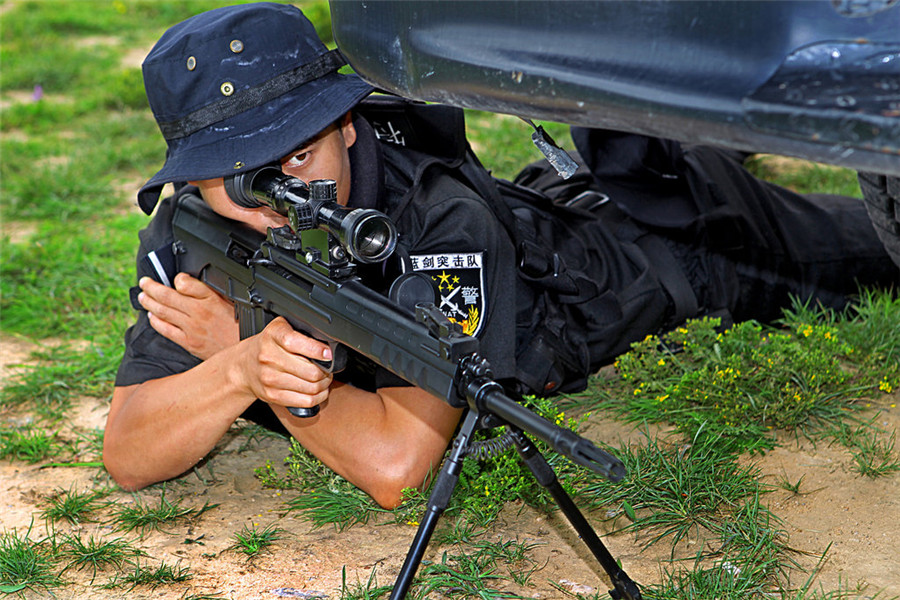 The Making Of A Swat Team Sniper1chinadaily