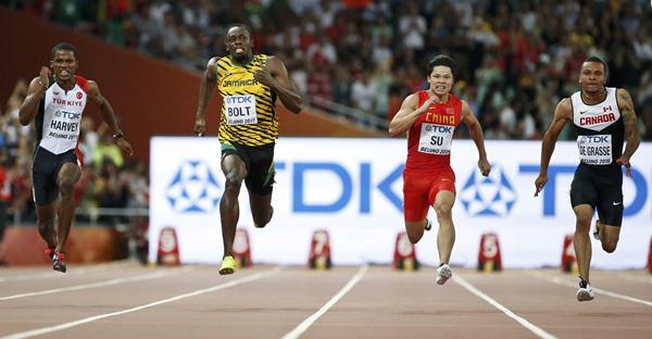 Su Bingtian runs 100m in 9.99 seconds | China |chinadaily ...