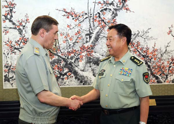 China, Russia vow to enhance military ties